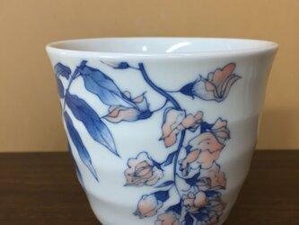 再販:藤の花のフリーカップの画像