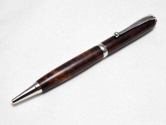 【デサートアイアンウッド】手作り木製ボールペン スリムライン CROSS替芯の画像