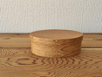 Shaker Oval Box #1 - 楢の画像