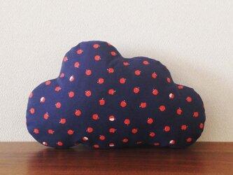 クッション cloud(M) りんごの画像