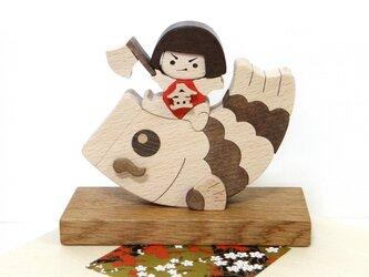 端午の節句☆鯉と金太郎の画像