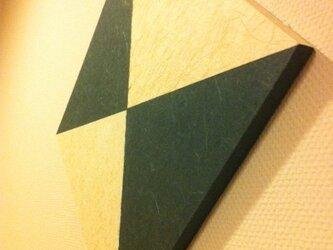 和紙壁がけボード・ひしがたの画像