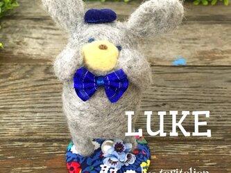 もふもふドール 【羊毛うさぎ】 LUKE ♂ (☆受注製作)の画像