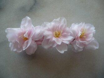 桜のバレッタ の画像