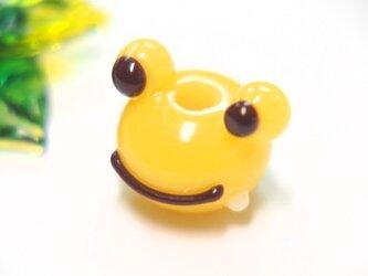 かえるのとんぼ玉 黄色の画像