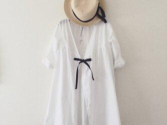 cotton robe onepiece*white*Lの画像