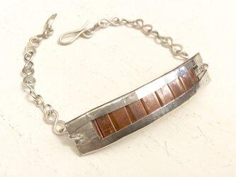 silver950,copper ブレスレットの画像