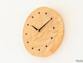 エノキの壁掛け時計 2の画像