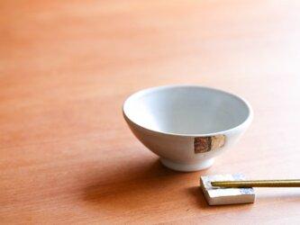 白釉飯碗(中)(シカク)の画像