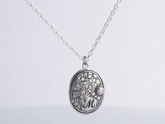 [M] Initial pendant [P046SV]の画像