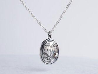 [T] Initial pendant [P050SV]の画像