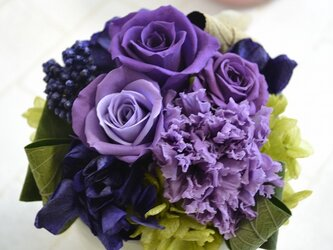 parfum de couleur  紫ラベンダー系の画像