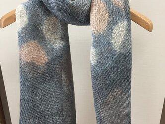 シルクマフラー真綿紬 Bの画像