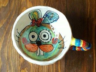うさこマグカップの画像
