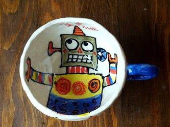 ワレワレハロボットマグカップ 1の画像