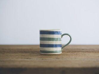 坂下花子 マグカップ(青×緑)の画像