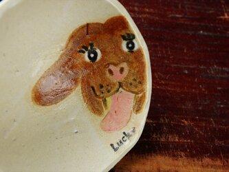 いぬの小皿(1112)の画像