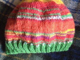 子どもの帽子の画像
