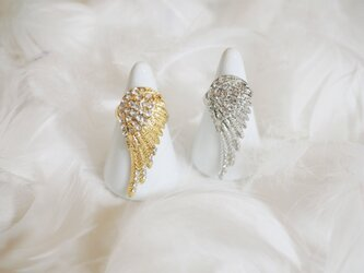 Angel wing Ring silverの画像