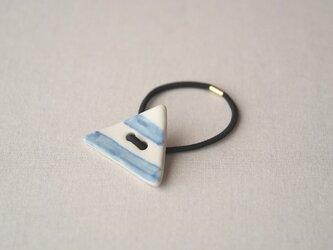 ヘアゴム(三角・しましま)の画像