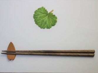 くるり箸 ウォルナットの画像
