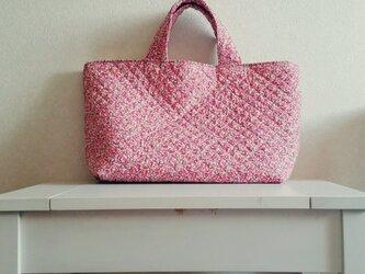花柄キルト bag(大)の画像