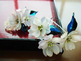 *八重桜*(簪セット)の画像
