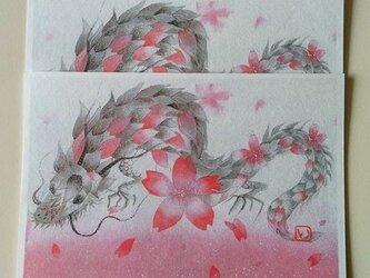 龍桜の画像