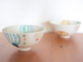 パステル風船茶碗の画像