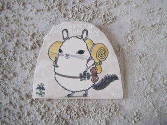 タイルの動物図鑑 チンチラの画像