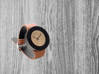 Wood Watch Bamboo Wooden Simplement Design Type Cの画像