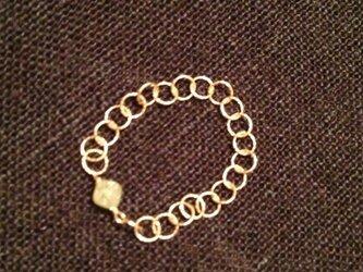 K様分yellow diamond ringの画像