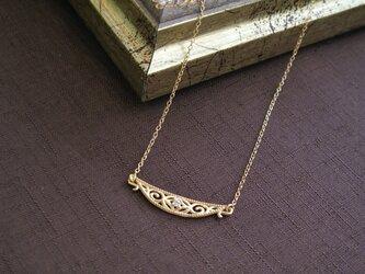 【受注製作】tsukinofune 月のふね ネックレス / diamond ダイヤモンドの画像