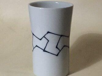 Z047 磁器染付フリーカップの画像