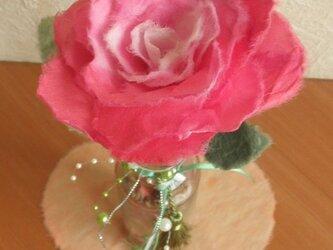 手漉き和紙花ギフト 薔薇のアレンジメントの画像
