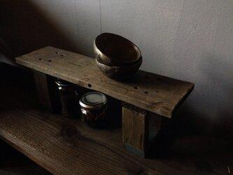 Slightly Shelf -navy-の画像