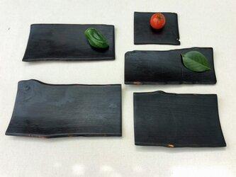 カバの盛り皿【5枚セット】#377の画像