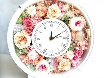 【受注製作】花時計 ピーチピンクの画像