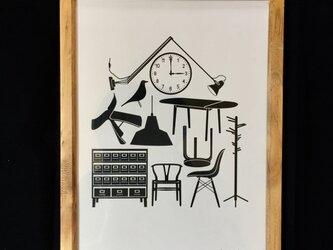 北欧風おうちblackの画像