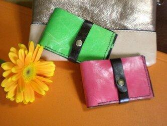 スレンダー&スリム財布 ヴィヴィットカラーG の画像