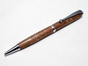 【ケルトノット】手作り木製ボールペン スリムライン CROSS替芯の画像
