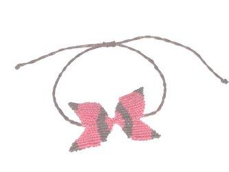 ネコちゃんの蝶ネクタイの画像
