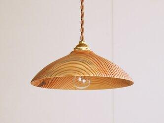 木製 ペンダントランプ 松材1の画像