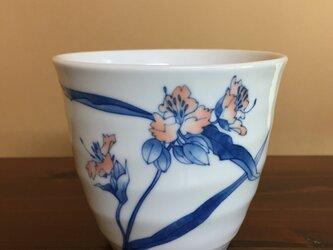 紫露草のフリーカップの画像