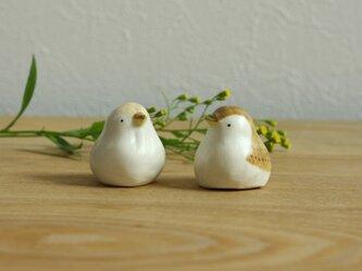 【暦鳥・春】うぐいす (濃)国産ヒノキの木箱入り ※受注制作の画像