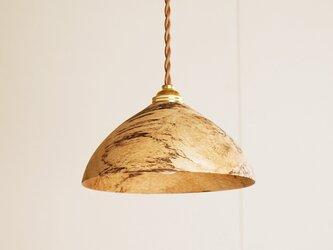 木製 ペンダントランプ 樫(カシ)材1の画像