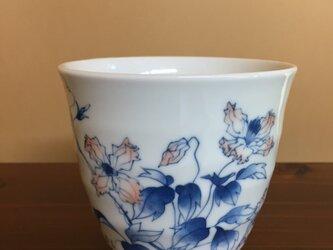 クレマチスのフリーカップの画像