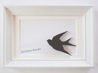 【森の小鳥】 ブローチの画像