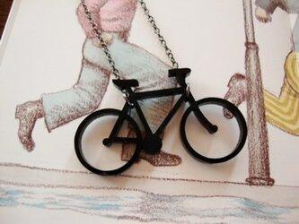 【黒い自転車】 ネックレスの画像
