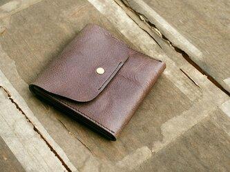 スクエア財布 GOAT(山羊革)の画像